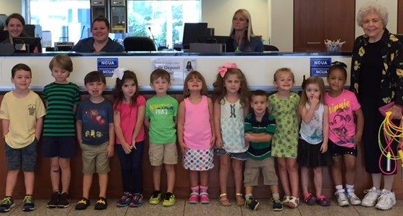 Visit from The Little School in Gardendale