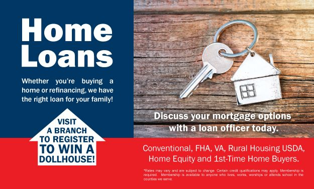 Home Loans-Dollhouse Giveaway