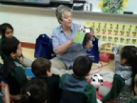 Decatur Kindergarten Children Learn About Saving Money